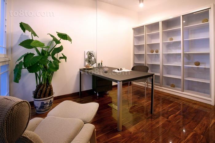 78平米二居书房现代装修效果图片