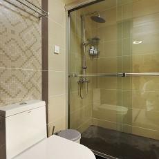 热门面积89平小户型卫生间现代实景图片大全