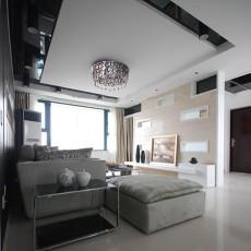 精选面积78平小户型客厅现代装修设计效果图片大全