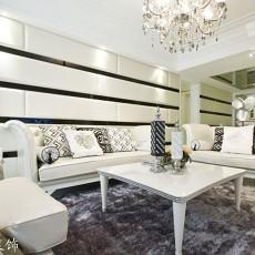精美89平米二居客厅欧式装修设计效果图片欣赏