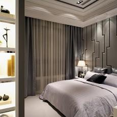 热门大小108平现代三居卧室装修设计效果图片欣赏