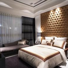 大小94平现代三居卧室实景图片欣赏