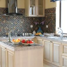 精选面积77平地中海二居厨房装修欣赏图