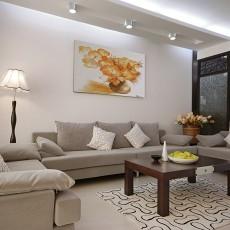 热门85平米二居客厅中式实景图片欣赏