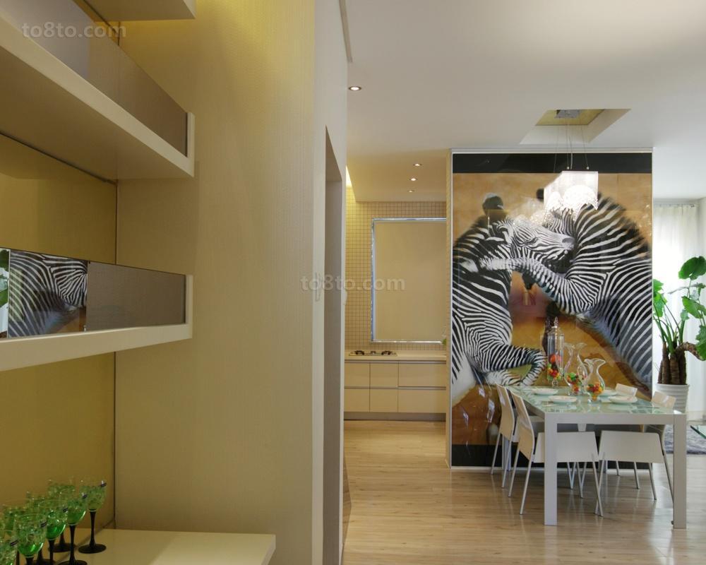 81平米二居餐厅简约装修效果图片大全