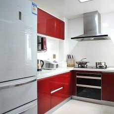 81平米二居厨房现代装修图片