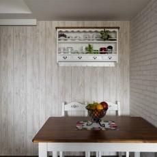 热门田园复式餐厅装修实景图片欣赏