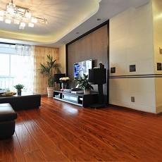 面积81平现代二居客厅装饰图片
