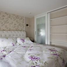 2018111平米田园复式卧室装修图片欣赏
