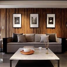 2018精选面积75平小户型客厅现代装修设计效果图片欣赏