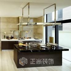 热门110平米现代复式厨房实景图