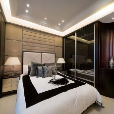 现代10平米卧室装修效果图大全图