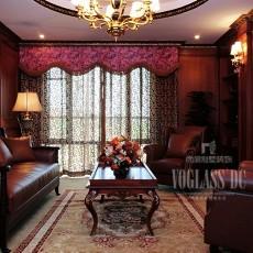 2018128平方欧式别墅客厅装修设计效果图片