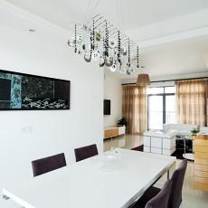 精美71平米现代小户型餐厅装修设计效果图片欣赏