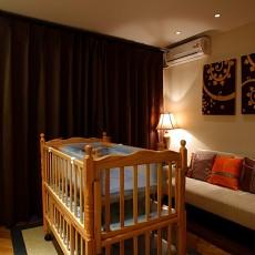 热门面积89平东南亚二居卧室实景图片欣赏