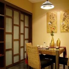 精选面积89平小户型餐厅东南亚装修欣赏图片大全