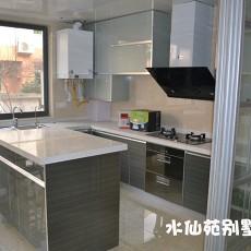 2018精选128平米简约别墅厨房实景图片欣赏