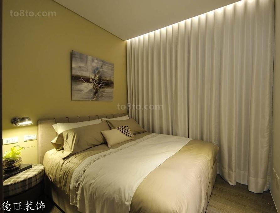 简约小卧室窗帘效果图欣赏
