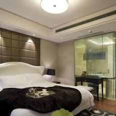 面积80平小户型卧室现代装修欣赏图片大全
