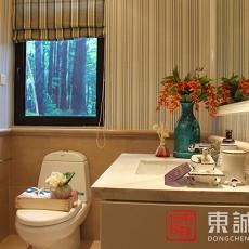 热门面积74平小户型卫生间欧式装修设计效果图片大全
