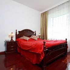 中式婚房卧室装修效果图2013
