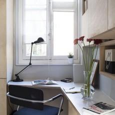 2018精选87平米现代小户型书房装修图片