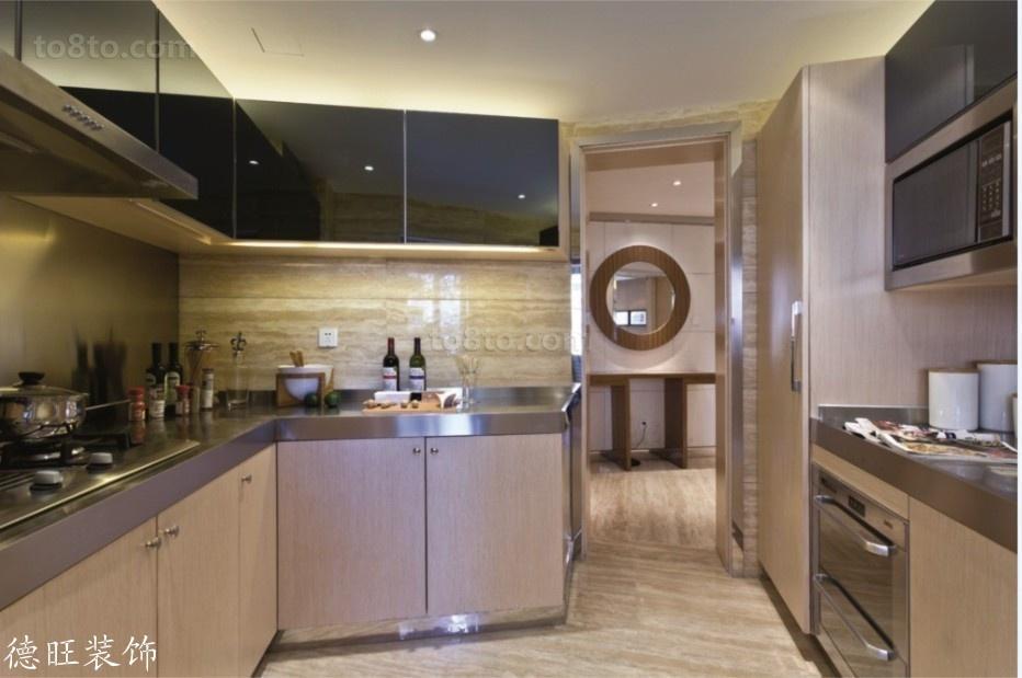 精美简约二居厨房装修效果图片