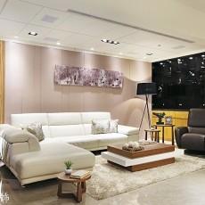 2018精选86平米二居客厅现代装修设计效果图片大全