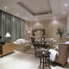 精选面积82平欧式二居客厅装饰图片