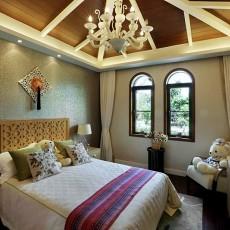 精美面积120平别墅卧室东南亚欣赏图片大全