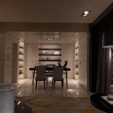 精美75平方二居餐厅现代装修图片大全