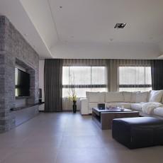 精选71平方二居客厅现代装修实景图片