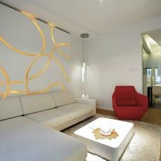 精美现代小户型客厅装修实景图片欣赏