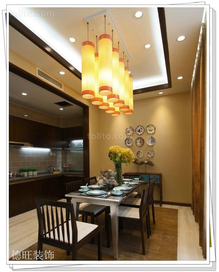 热门二居餐厅中式装饰图片