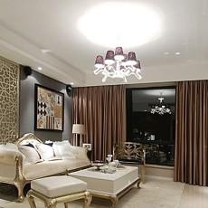 面积80平小户型客厅欧式装修效果图片欣赏