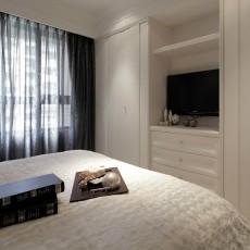 201876平米二居卧室现代装修欣赏图