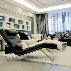 2018面积87平小户型客厅现代装修效果图