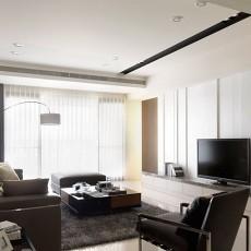 精美70平米二居客厅现代效果图