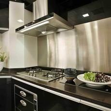 精美现代二居厨房实景图片大全