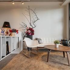 LOFT风格小客厅装修效果图