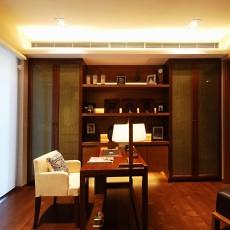 精美面积89平东南亚二居书房装饰图