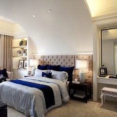 精选78平米二居卧室欧式装饰图