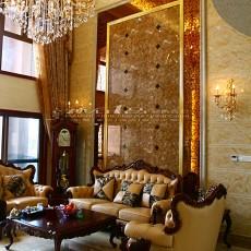客厅沙发大理石背景墙装修效果图欣赏