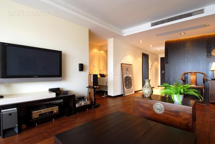 精美中式一居客厅装修图