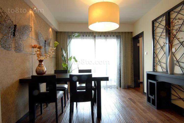 面积83平中式二居休闲区装修图