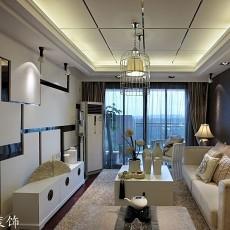 2018精选面积86平现代二居客厅装修设计效果图片大全