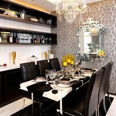 78平米现代小户型餐厅装修效果图片大全