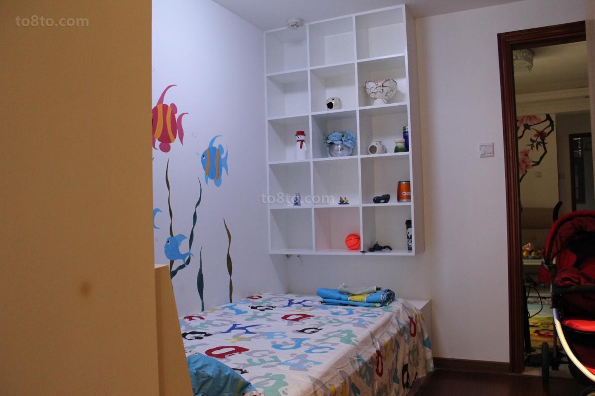 精选75平米简约小户型儿童房欣赏图