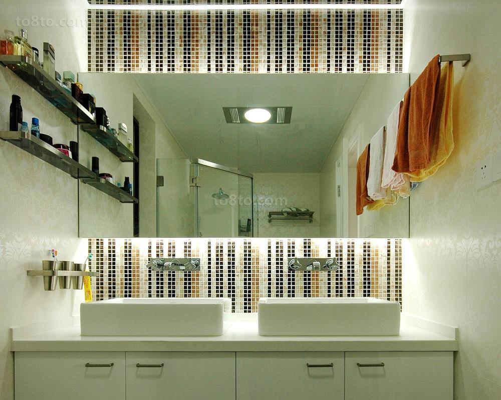 洗手间马赛克墙面装修效果图欣赏