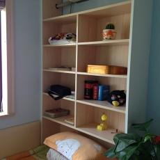小卧室置物架装修效果图